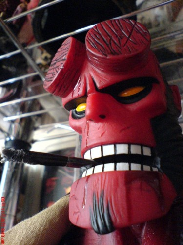 Hellboy With Cigar