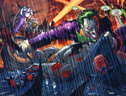 Joker Kills Batman - In front of disabled kids