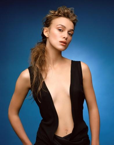 Keira Knightley - Black Dress