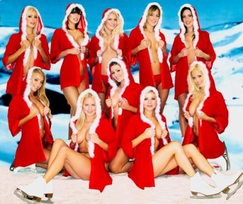 NSFW - Christmas Girls