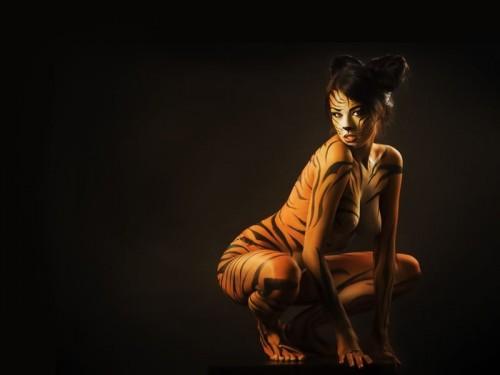 NSFW - Tiger Girl