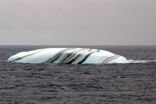 Striped Ice Berg