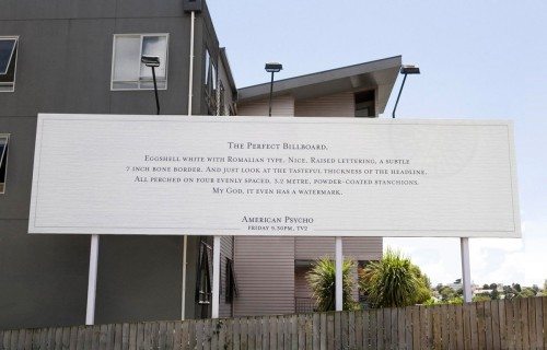 The Perfect Billboard - American Psycho