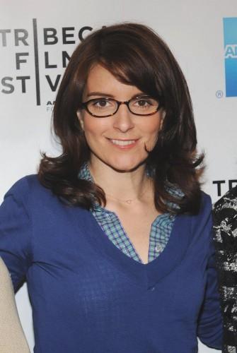 Tina Fey - Blue Top