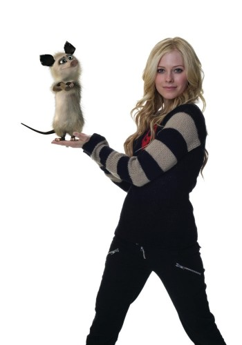 Avril Lavigne And A Stinky Rat