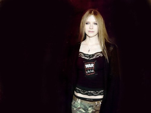Avril Lavigne is a war child