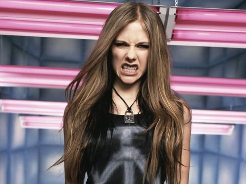 Avril Lavigne Is Angry