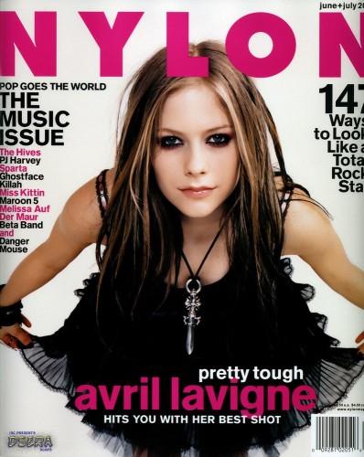Avril Lavigne On Cover Of Nylon