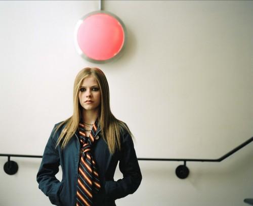 Avril Lavigne Under A Red Light