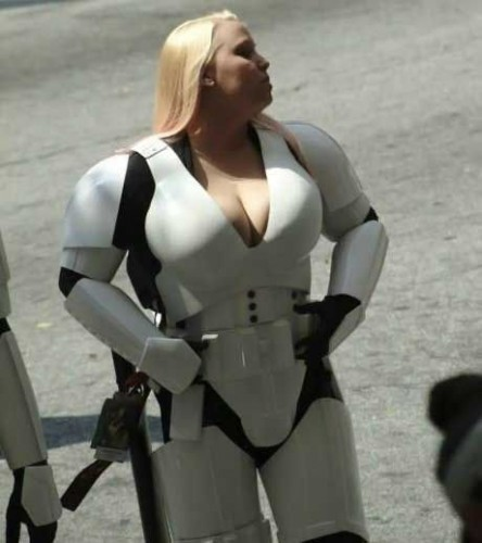 Busty Storm Trooper