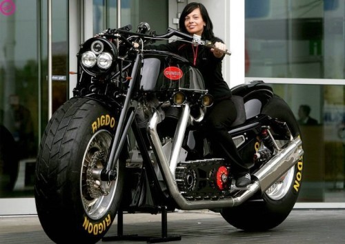 gunbug motorcycle 500x354 Gunbug Motorcycle wtf Cars
