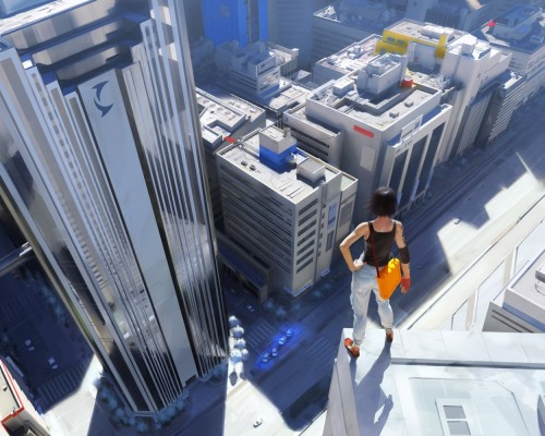 Mirrors Edge - View From Above