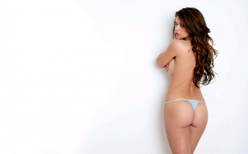 NSFW - White Wall With Firm Ass