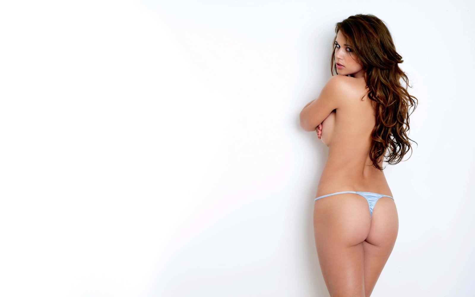 NSFW – White Wall With Firm Ass