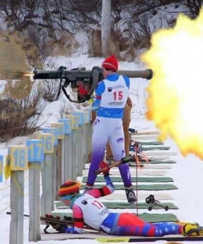 Olympic Ski Shooting Squad