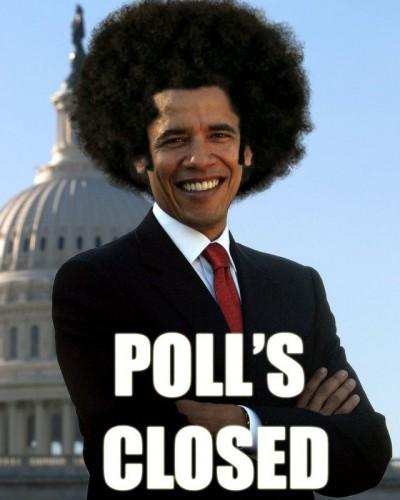 Polls closed
