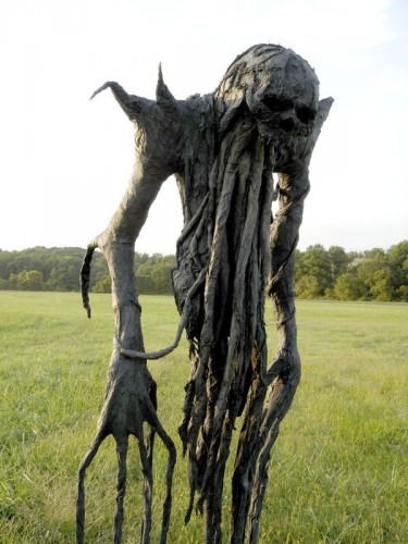 scary field creature