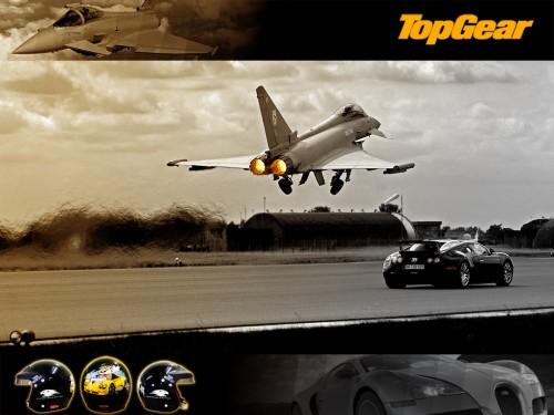 Top Gear - Car Vs Jet