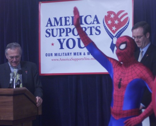 America Supports You - Spider-Man