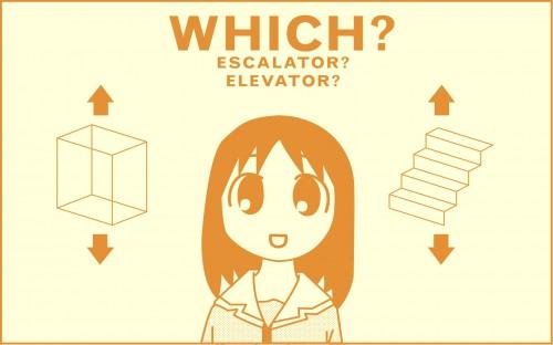 Escalator or Elevator
