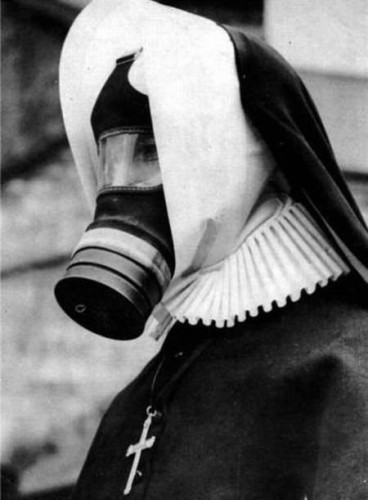 Gas Mask Nun