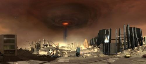 Half Life Sky Vortex