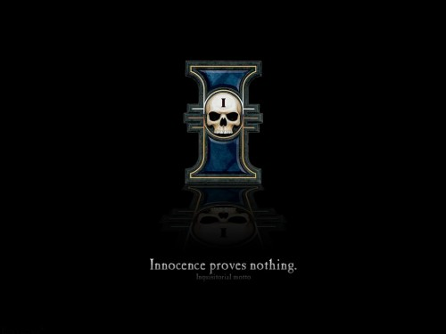 innocence proves nothing 500x375 Innocence Proves Nothing Warhammer 40k Religion Gaming Fantasy   Science Fiction
