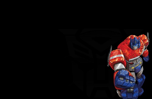 Optimus Prime Give You The Fist