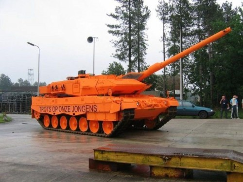 orange tank 500x374 Orange Tank Weapons Politics