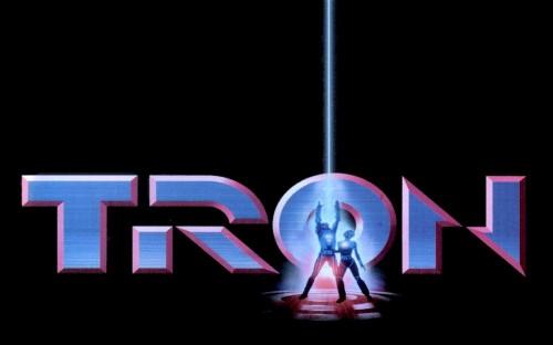 Tron Title Card