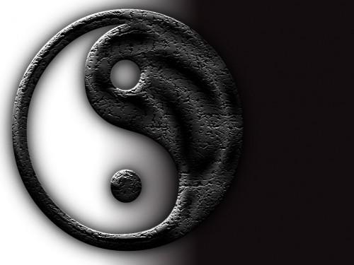 Yin Yang Cracked