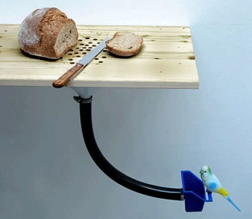 Bread Catcher Bird Feeder