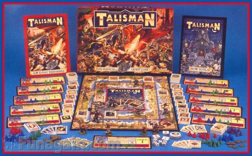 talisman board game 500x310 Talisman Board Game Gaming