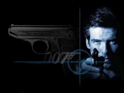 007 - bond and gun