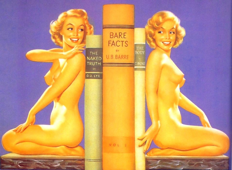NSFW – Nude Bookends