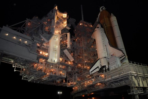 atlantis on pad