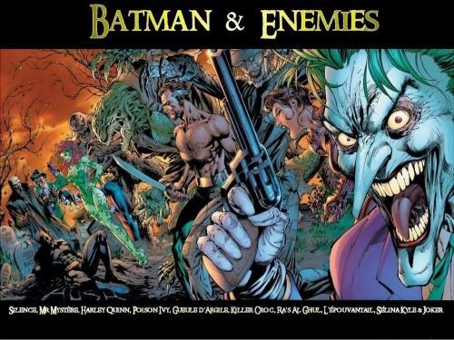 batman and enemies
