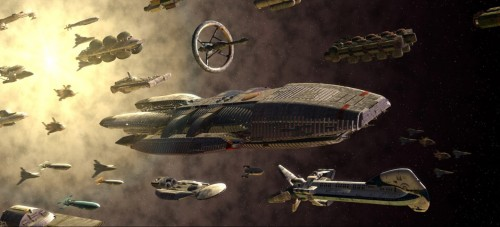 battlestar galactica fleet 500x227 battlestar galactica fleet Wallpaper Television Fantasy   Science Fiction