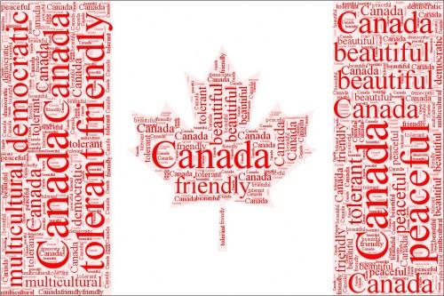 Canada Word Logo