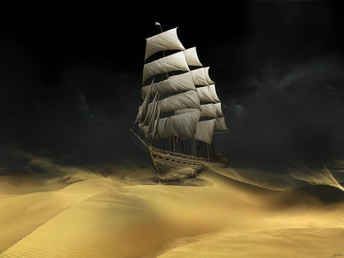 Desert Ship