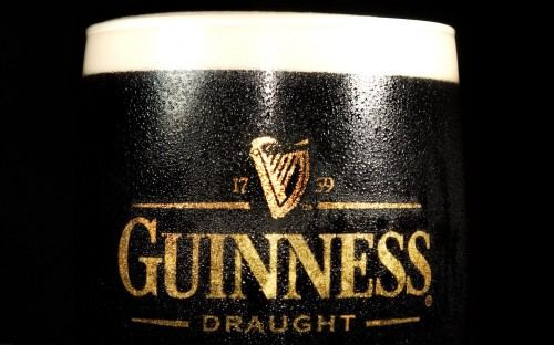 guinness draught 500x312 Guinness Draught Wallpaper Alcohol