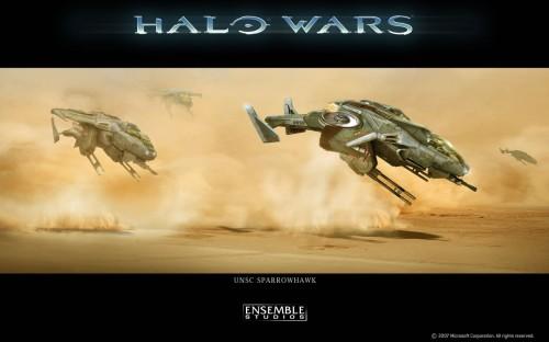 halo wars - unsc sparrowhawk