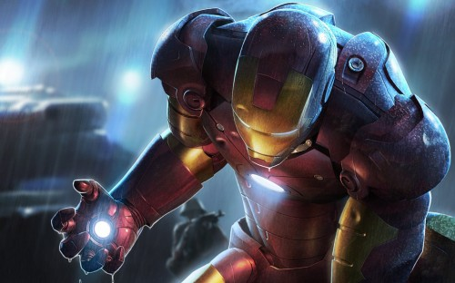 Iron man is about to fuck shit up