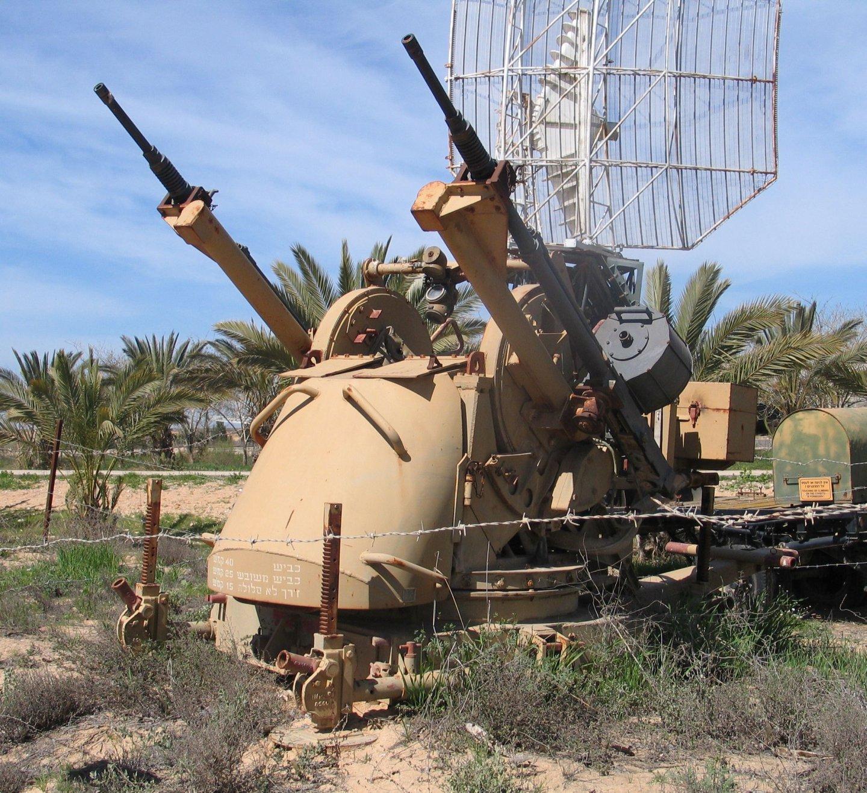 Israeli 20mm AA autocannon on a TCM-20 turret.