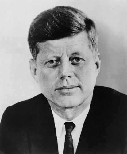 john f kennedy 414x499 John F Kennedy Sexy Politics