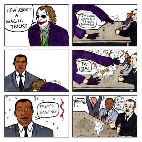 Joker's Magic Trick