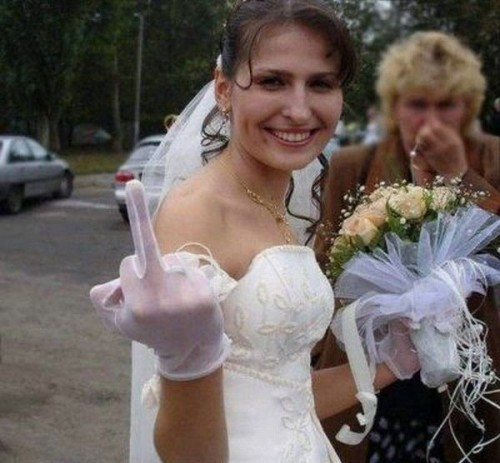 marriage - middle finger