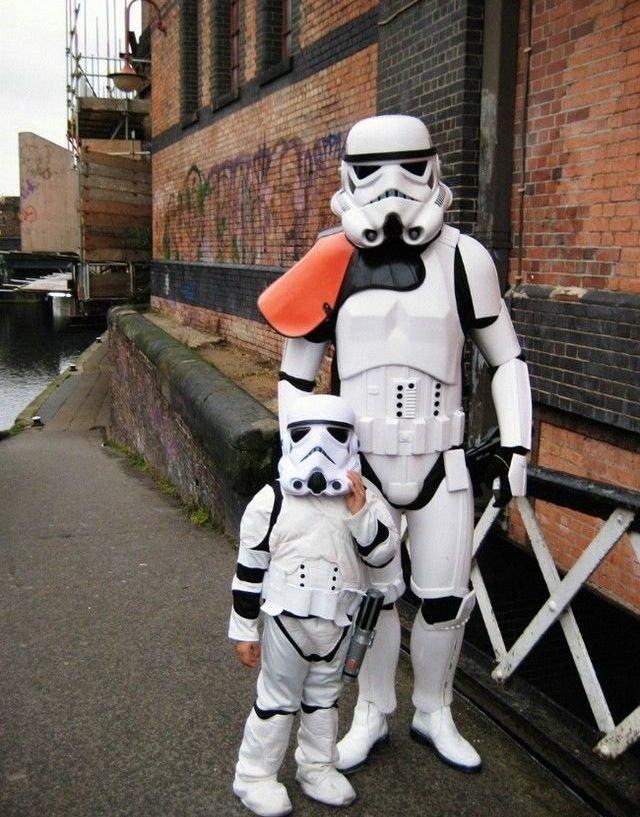 Mini Storm Trooper