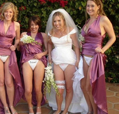 nsfw - wedding party
