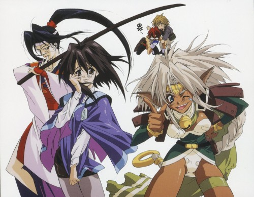 outlaw star girls 500x389 Outlaw Star Girls Wallpaper Television Fantasy   Science Fiction